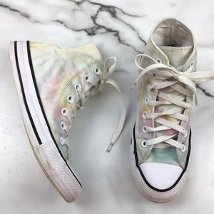 Converse All Star Tie Dye High Top Sneakers